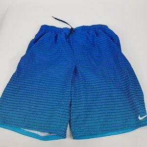 Nike swim trunks.